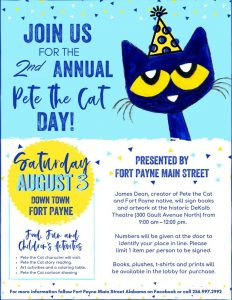 2019 Pete the Cat poster