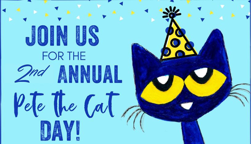 Pete the Cat Day 2019